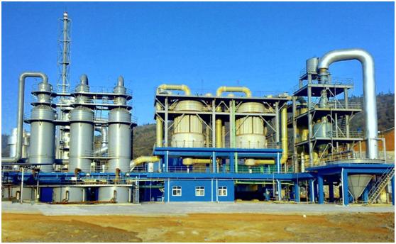 湖南宇腾10万吨-制酸总包工程