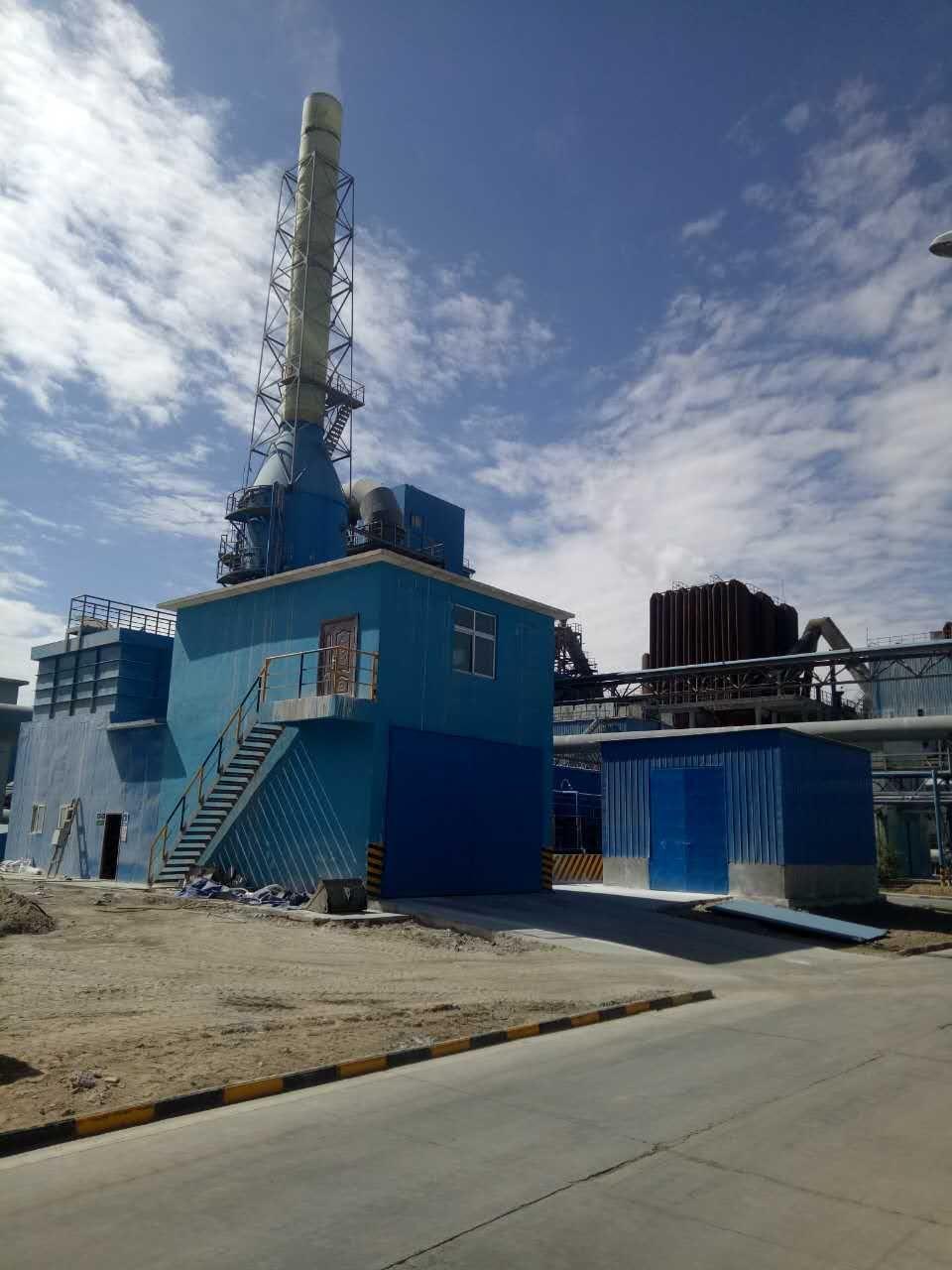 青海西豫有色金属有限公司制酸尾气双氧水同乐城官网装置